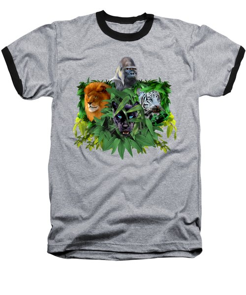 Jungle Guardians Baseball T-Shirt