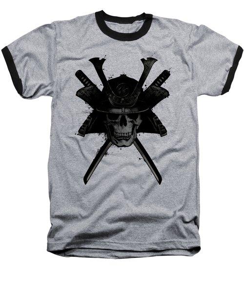 Samurai Skull Baseball T-Shirt