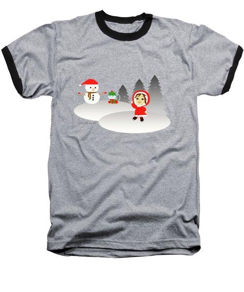 Christmas #6 Baseball T-Shirt