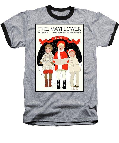 Children Caroling At Christmas Baseball T-Shirt