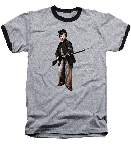 Union Drummer Boy John Clem Baseball T-Shirt