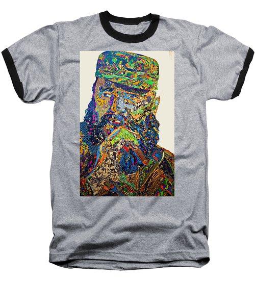 Fidel El Comandante Complejo Baseball T-Shirt