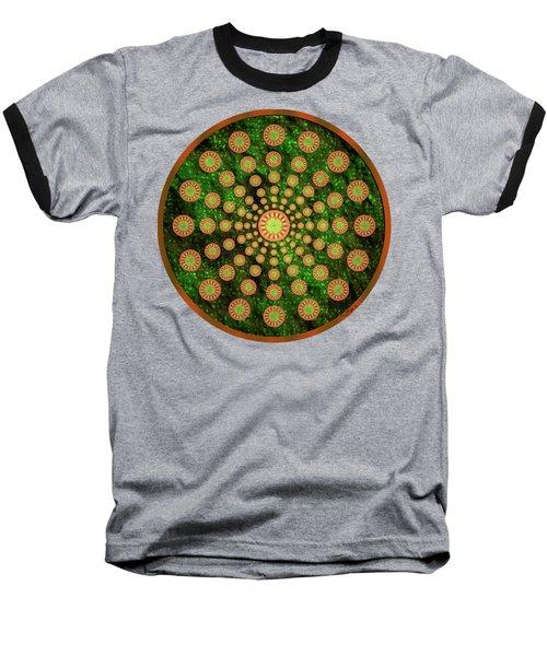 Mandala Radium 1 Baseball T-Shirt
