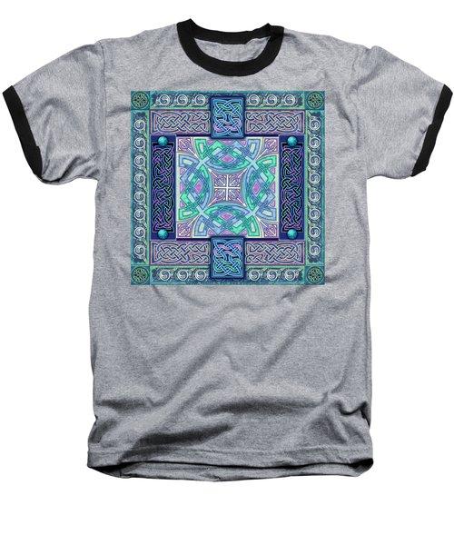 Celtic Atlantis Opal Baseball T-Shirt