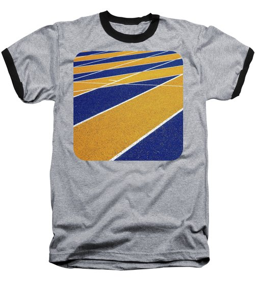 On Track Baseball T-Shirt by Ethna Gillespie
