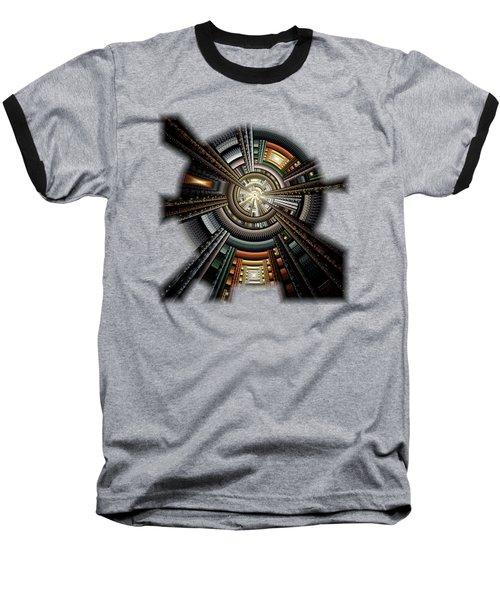 Space Station Baseball T-Shirt