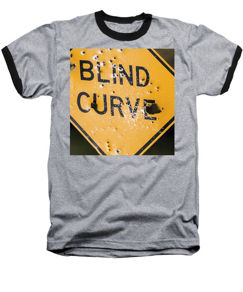 Blind Curve Baseball T-Shirt