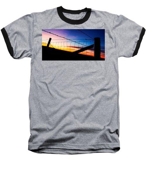 Hilltop Sunset Baseball T-Shirt