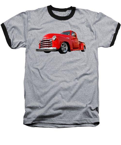 1952 Chevrolet Truck At The Diner Baseball T-Shirt