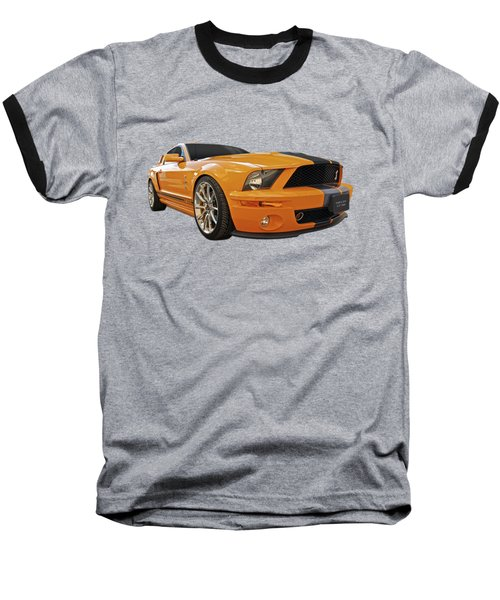 Cobra Power - Shelby Gt500 Mustang Baseball T-Shirt