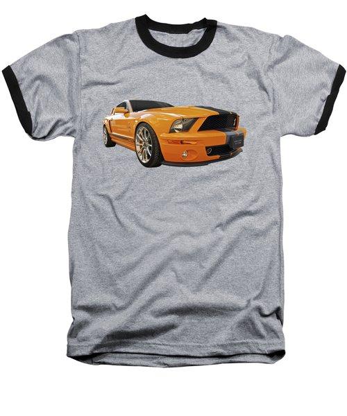 Cobra Power - Shelby Gt500 Mustang Baseball T-Shirt