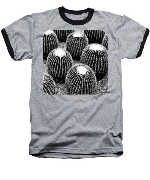 Cacti Baseball T-Shirt by Ethna Gillespie