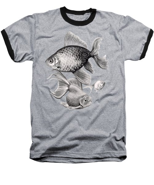 Goldfish Baseball T-Shirt