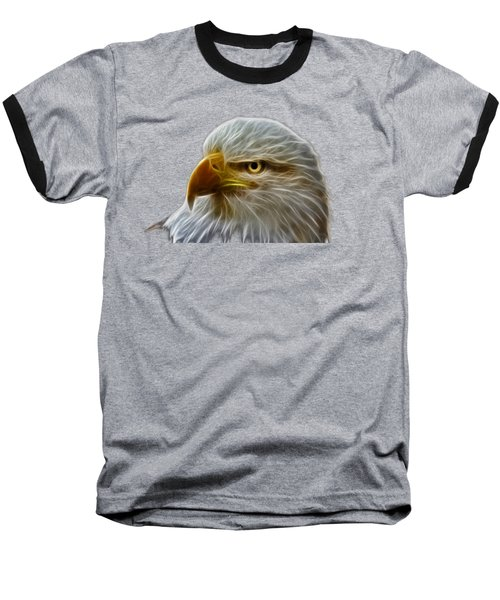 Glowing Eagle Baseball T-Shirt