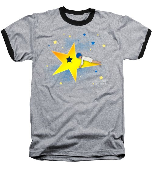 Star Child Baseball T-Shirt
