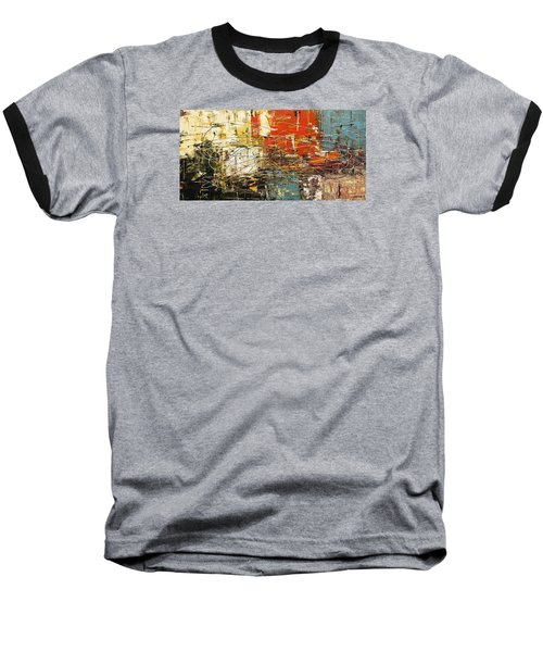 Baseball T-Shirt featuring the painting Artylicious by Carmen Guedez