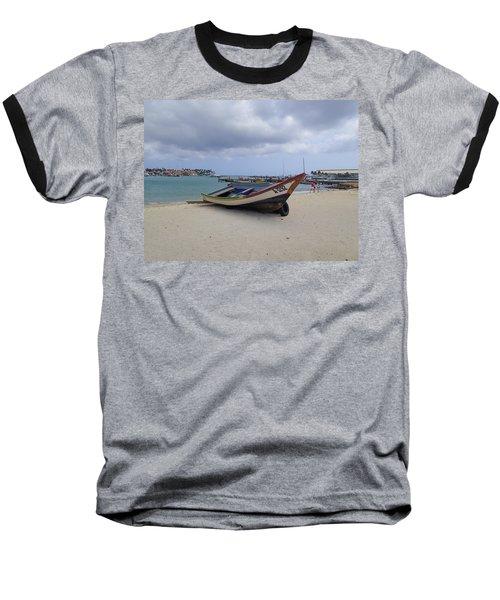 Aruba Beach Baseball T-Shirt by Lois Lepisto