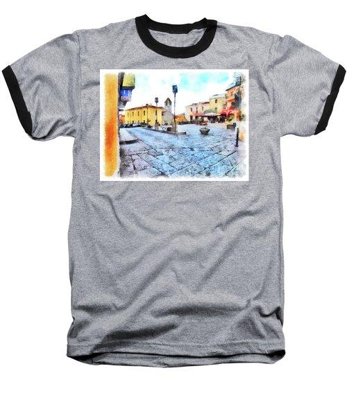 Arzachena Risorgimento Square Baseball T-Shirt