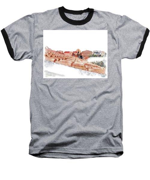 Arzachena Roof And Church Baseball T-Shirt