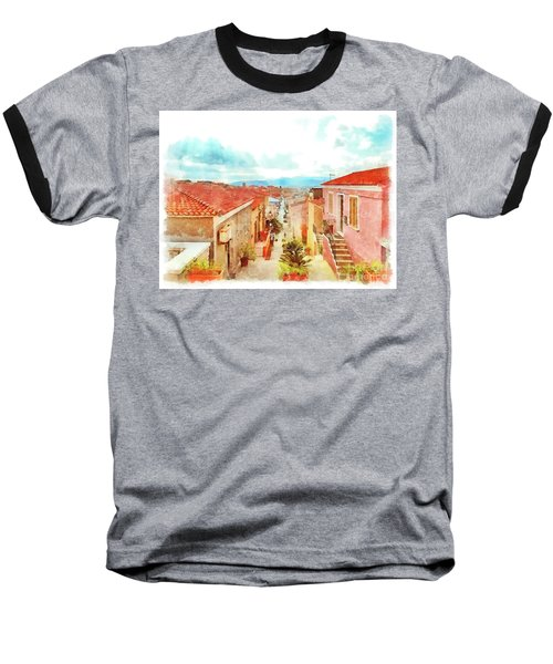 Arzachena Urban Landscape Baseball T-Shirt