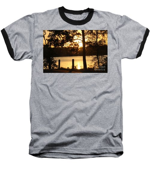 As Another Day Closes Baseball T-Shirt