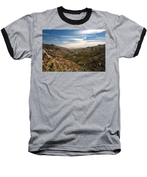 Baseball T-Shirt featuring the photograph As Far As The Eye Can See by Joe Kozlowski