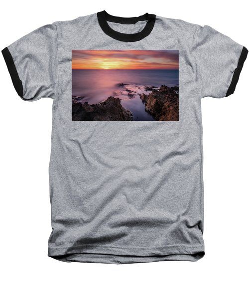 As The Day Ends Baseball T-Shirt