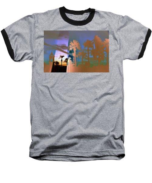 As The Fog Lifts Baseball T-Shirt