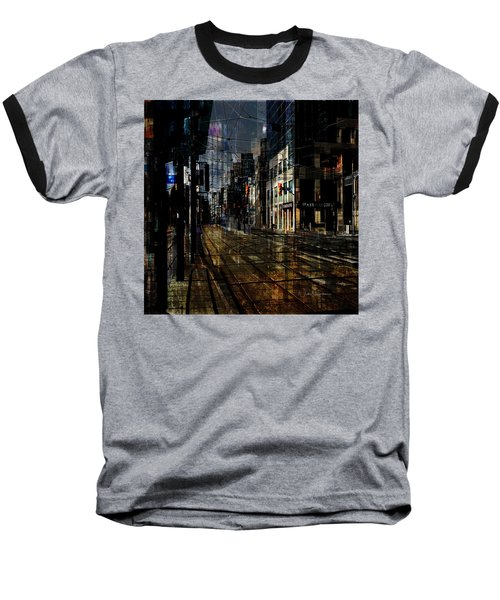 As The Sun Goes Down Baseball T-Shirt by Nicky Jameson