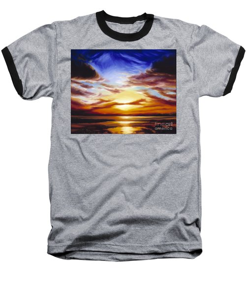 As The Sun Sets Baseball T-Shirt