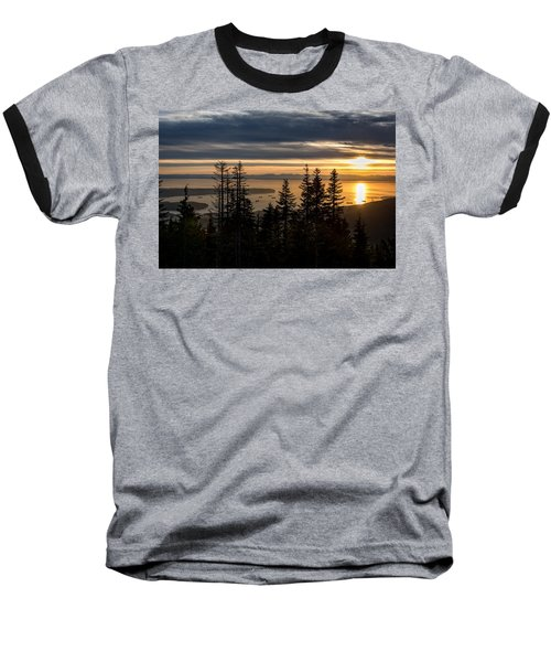 As The Sun Sets Of Vancouver Baseball T-Shirt
