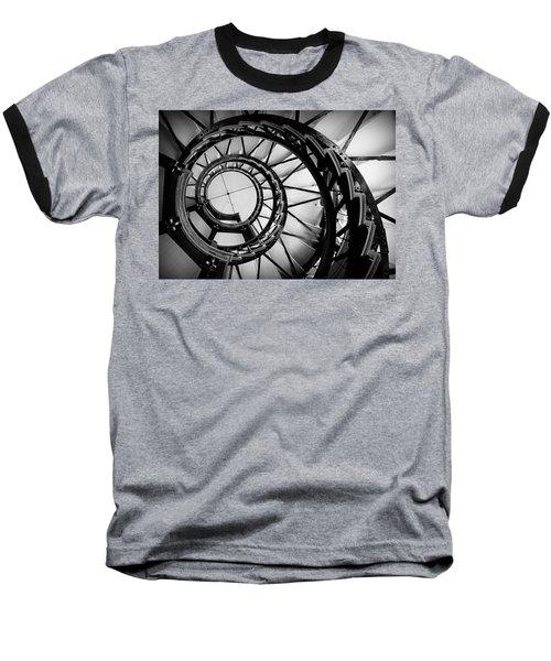 Ascend - Black And White Baseball T-Shirt