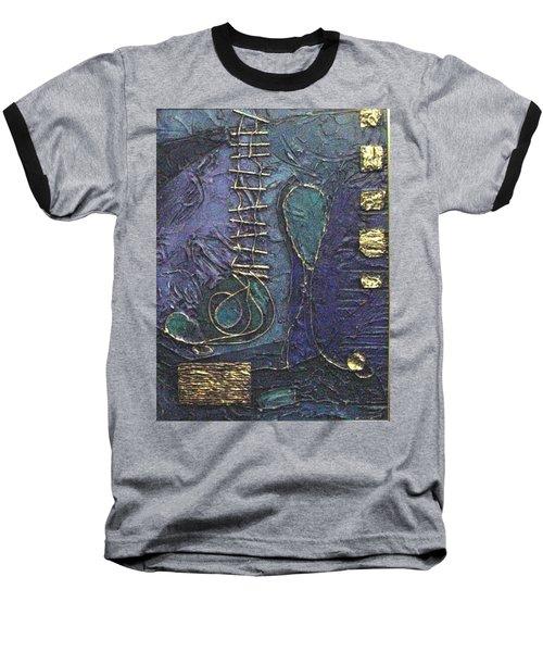 Ascending Blue Baseball T-Shirt by Bernard Goodman
