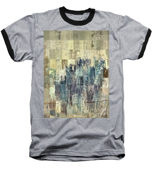 Baseball T-Shirt featuring the painting Ascension - C03xt-159at2b by Variance Collections
