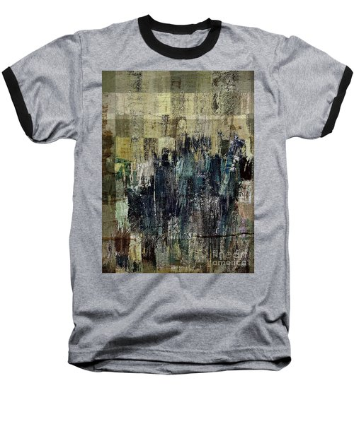 Baseball T-Shirt featuring the painting Ascension - C03xt-159at2c by Variance Collections