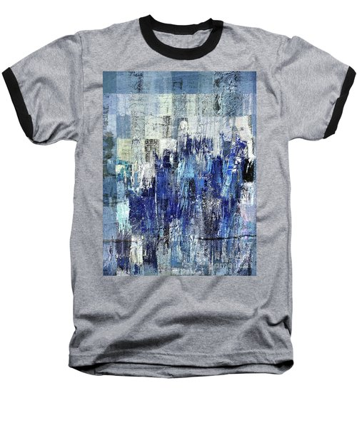Baseball T-Shirt featuring the digital art Ascension - C03xt-160at2c by Variance Collections