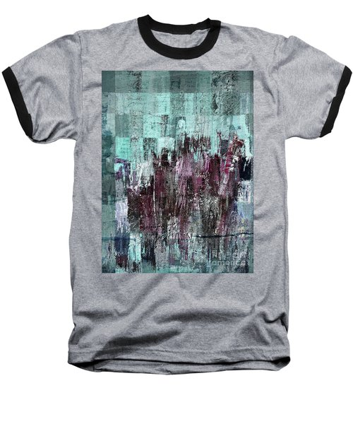 Baseball T-Shirt featuring the digital art Ascension - C03xt-161at2c by Variance Collections