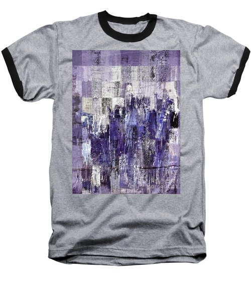 Baseball T-Shirt featuring the painting Ascension - C03xt-166at2c by Variance Collections