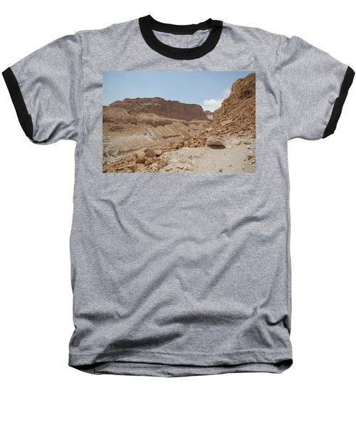 Ascension To Masada - Judean Desert, Israel Baseball T-Shirt by Yoel Koskas