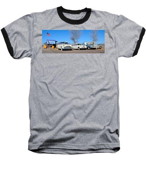Ash Fork Vintage Cars Along Historic Route 66 Baseball T-Shirt
