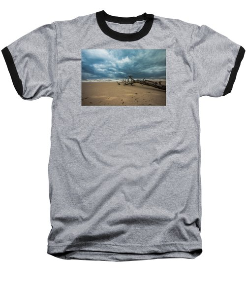 Ashdod Seascape Baseball T-Shirt