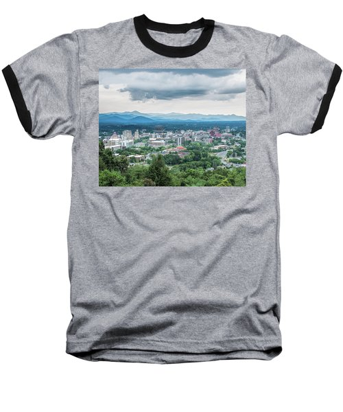 Asheville Afternoon Cropped Baseball T-Shirt