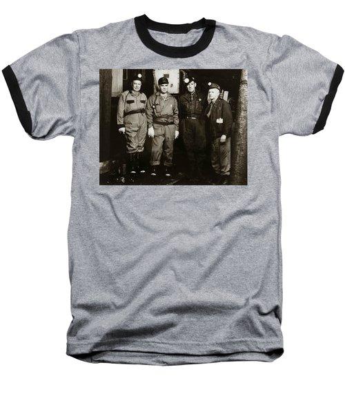 Ashley Pa  Glen Alden Coal Co  Huber Coal Breaker 1962 Baseball T-Shirt