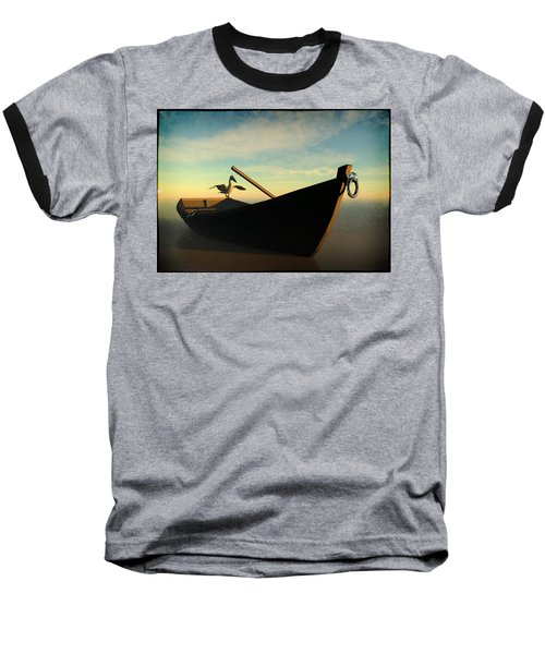 Ashore... Baseball T-Shirt by Tim Fillingim