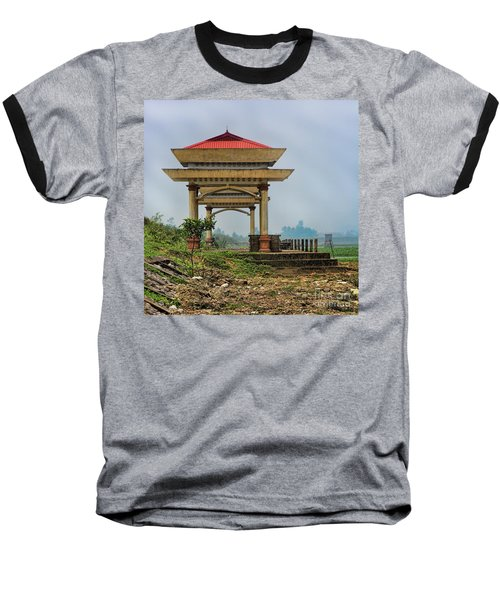 Asian Architecture I Baseball T-Shirt