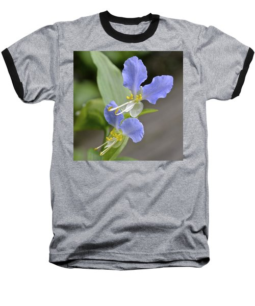 Virginia Dayflower Pair Baseball T-Shirt