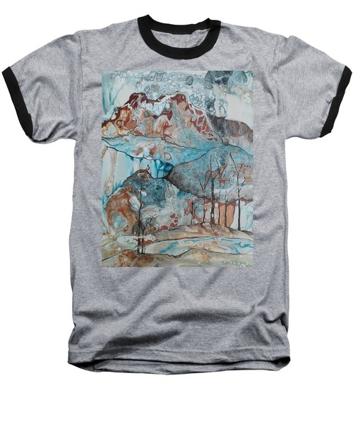 Ice And Fire Baseball T-Shirt