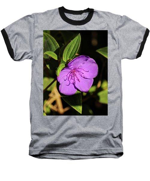 Asian Melastome Baseball T-Shirt