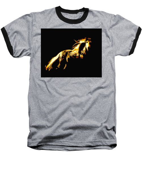 Asian Stallion Baseball T-Shirt