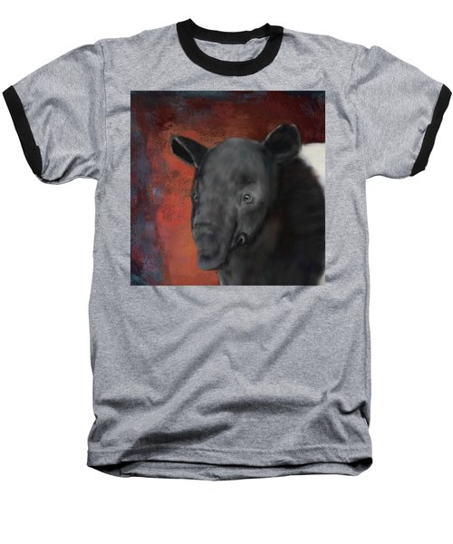 Asian Tapir Baseball T-Shirt